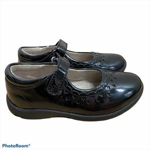 Stride Rite Leather Black Mary Jane Dress Shoes